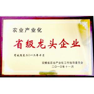 农业产业化省级龙头企业.