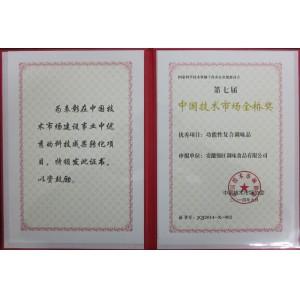 中国技术市场金桥奖(功能性复合调味料)