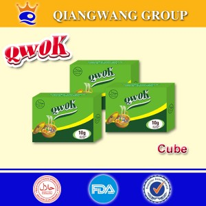 Compound Seasoning Cube--Hard Bouillon Cube--Vegetable Flavour