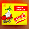 Compound Seasoning Cube--Hard Bouillon Cube--Onion
