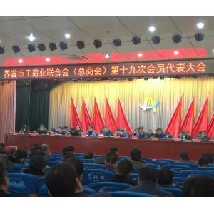 集团董事长张强先生当选界首市工商业联合会名誉会长