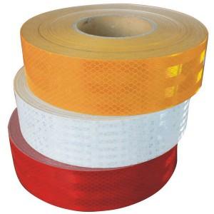 Alta Intensidad prismática ECE-104 cinta de Visibilidad  para camiones y remolques