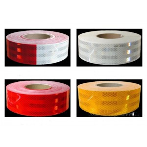Class 1 prismatic reflective  conspicuity tape