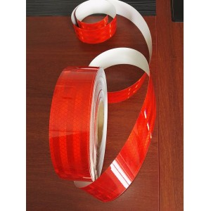 High Intensity Prismatic ECE-104 Conspicuity tape for trucks and trailers