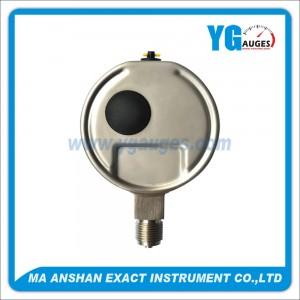 DIN All SS Type Liquid Filled Pressure Gauge,Laser Wedling,Bottom Connection