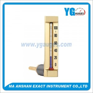 Glass Thermometer Angle Type