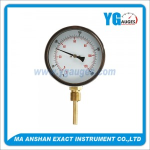 M.S. Bimetal Thermometer Bottom Mount
