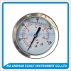 Liquid Filled Pressure Gauge,Back Connection,Bayonet Type