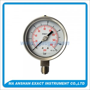 Bourdon tube pressure gauge High quality version Model 118A