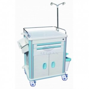 AG-ET015B1 Four silent wheels treatment cart