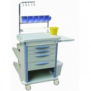 AG-NT004B3 ABS Hospital Clinic Trolley