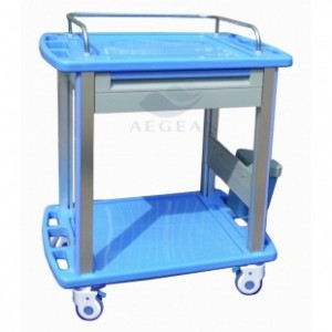 AG-CT010A3 Color optional plastic nursing trolley