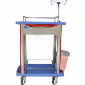 AG-LPT006B Luxury Plastic ABS trolley