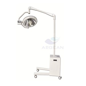 AG-LT007 Standing surgical room  mobile operating lamp led