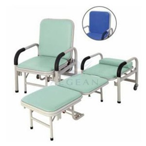 AG-AC001 Hospital metal frame comfortable accompany chair