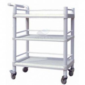 AG-UTB06 Plastic material durable hospital trolley