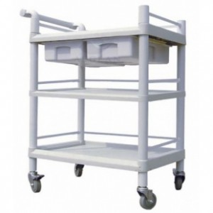 AG-UTB07 Hospital plastic cheap medical utility carts