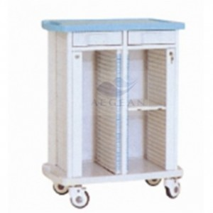 AG-CHT007 Patient files holder moving medical cart