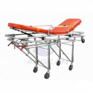 AG-4B4 Hospital adjustable loading ambulance stretcher