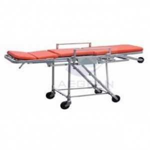 AG-4F Popular hospital metal frame chair type first aid stretcher