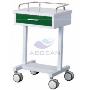 AG-GS007 With One Small Drawer General medical cart with drawer