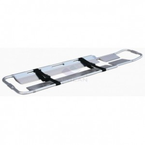 AG-5B Best selling hospital al-alloy frame scoop stretcher