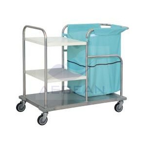 AG-SS018 With three layers metal frame hospital crash cart
