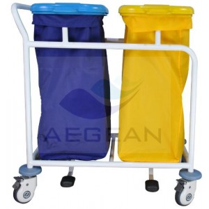 AG-SS019B Stainless steel hospital linen trolley