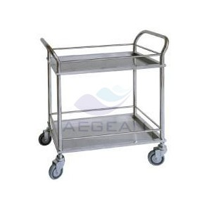 AG-SS022 Hospital Mayo  stainless steel beam trolleys