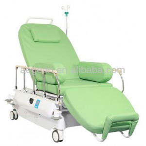 AG-XD207 CE ISO 3 motors electric color optional phlebotomy chair