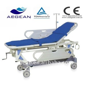 AG-HS002 With two ABS handrails hospital economic portable stretchers