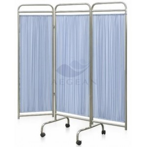 AG-SC002 CE ISO durable with four wheels hospital screen