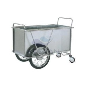 AG-SS025 Best price! 304 Stainless Steel Laundry Trolley
