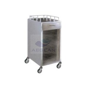 AG-SS027 SS One lockable drawer Trolley