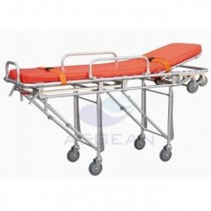 AG-4B CE ISO hospital high quality al-alloy frame medical stretcher