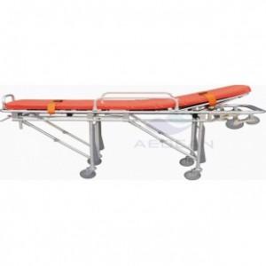 AG-4B3 Hospital durable adjustable hospital ambulance stretcher with wheels