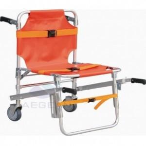 AG-6B Color optional hospital al-alloy frame durable rescue chair stretcher