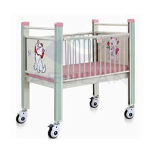 AG-CB004 Metal Frame Top Quality Full Length Handrails Princess Bed