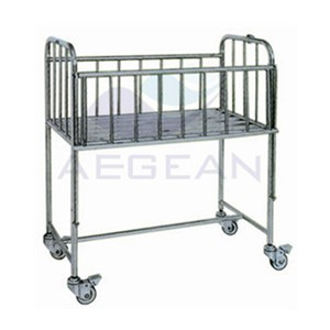 AG-CB005 Hospital Patient Room Metal Frame Trundle Chic Baby Bedding