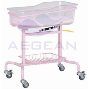 AG-CB009 Popular Metal Base Durable Economic Hospital Cute Baby Bedding