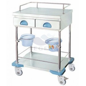 AG-MT035 Best selling hospital with drawers ISO&CE medical cart