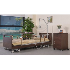CE approved ultra-low nursing room bed AG-W001
