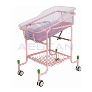 AG-CB010 Metal Base ABS Basin Hospital Economic Luxury Baby Bedding