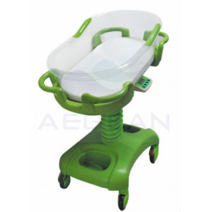 AG-CB011-A CE&ISO Economic Hospital ABS Baby Bed Sleeper