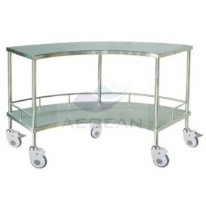 AG-SS007A hot sale high stainless steel shopping cart