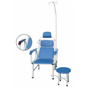 AG-TC002 CE ISO approved blue hospital  injection chair