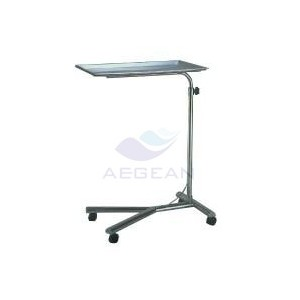 AG-SS008 hot sale high stainless steel catheter supplies mayo cart