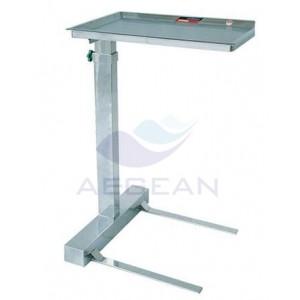 AG-SS008B Best selling hospital stainless steel frame instrument cart