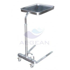 AG-SS008C hot sale high stainless steel microwave cart