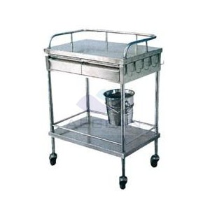 AG-SS041 Top quality! 304 SS material medical rolling carts